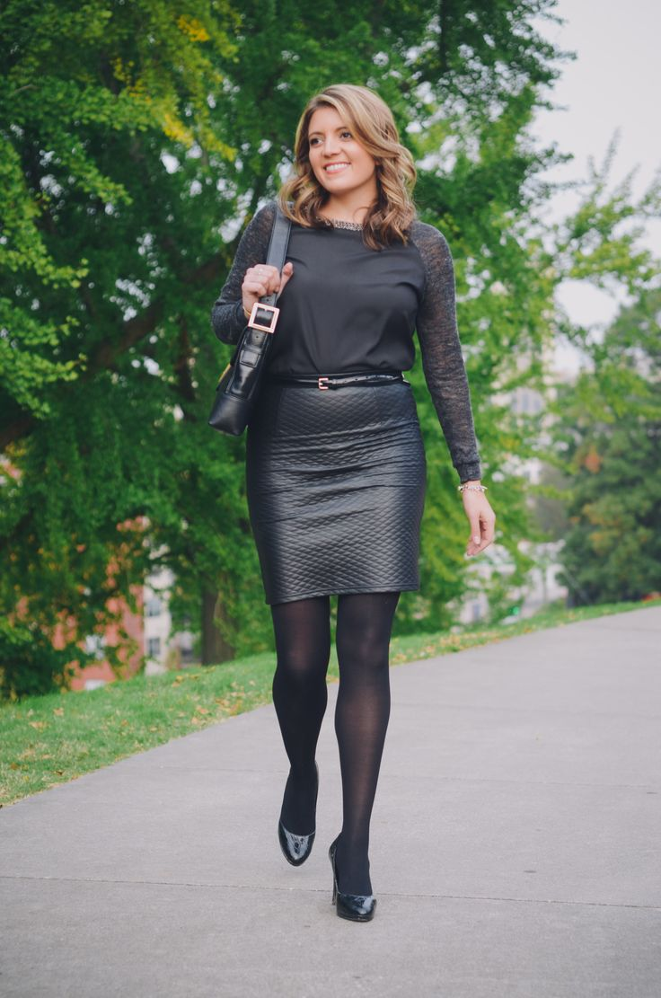 Cool Leather Skirt