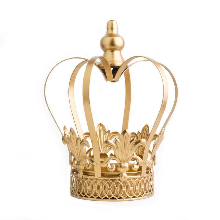 Gold Crown Centerpiece ~ Daphne Wedding decor. Perfect for bridal shower, baby shower, first birthday party, prince or princess decorations, quinceanera, royal or king themed parties, baptisms and chr