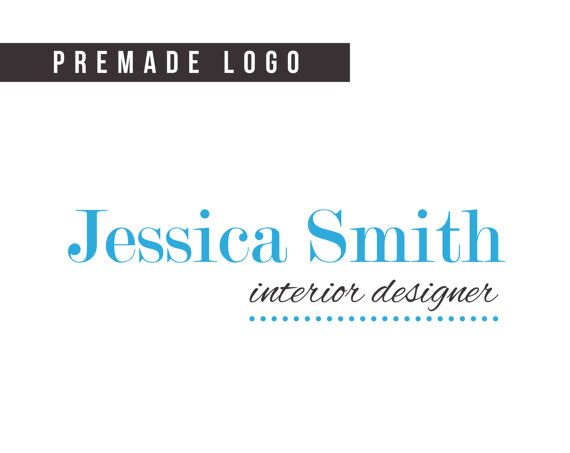 Custom Premade Logo  designer logo simple logo by HayahDesigns