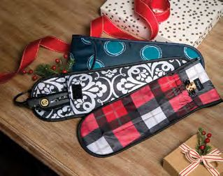 Thirty-One Style Sleeve for taking your curling iron or straightener on the go!