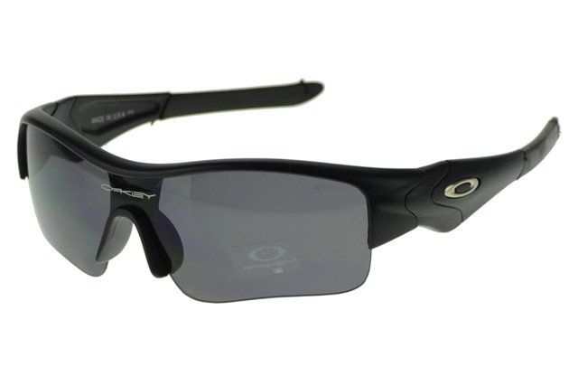 Really Cheap Oakley Half Straight Jaquetas Black Frame Gray Lens#Oakley Sunglasses