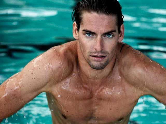 Camille Lacourt (French Olympic swimmer)