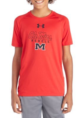 Gear For Sports Ole Miss Tech Short Sleeve Tee - Simply Red - Xlarge Average Or Medium Or Regular
