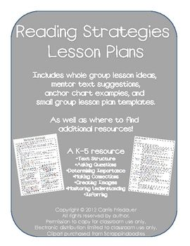 Small Group Reading Strategies 13