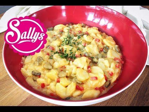 Kartoffelsalat / ideale Beilage zum Grillen / vegan - YouTube