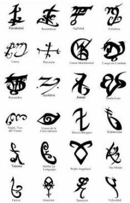 #wattpad #de-todo En Este libro encontrarás todas las runas de Cazadores de Sombras y sus significados
