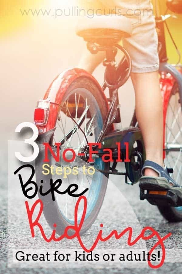 How To Ride A Bike For Adults Children The No Fall Method