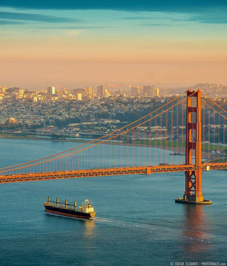 Golden Gate Bridge San Francisco California Sunset Picture: 17 Best Ideas About Golden Gate Bridge On Pinterest
