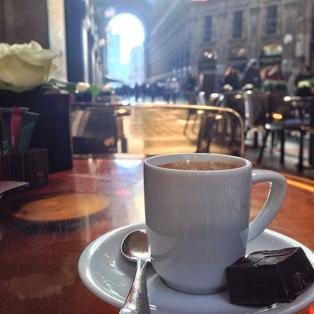InstaTrip: The Italian Good Life | Feeling Fancy | FATHOM - Galleria Vittorio Emanuele II from the Gucci Cafe in Milan