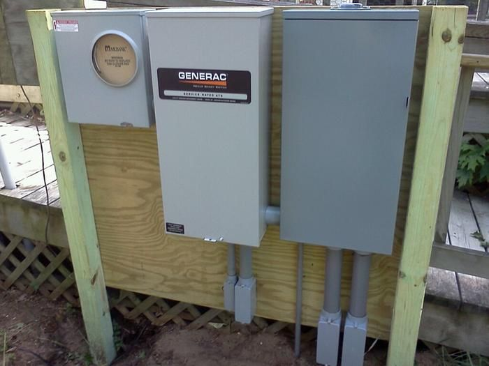 Generac Service Entrance Rated Automatic Transfer Switch 200 Amps