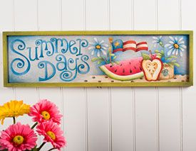 Summer Days! by Cindy Mann Vitale. Surface and Exclusive pattern at artistsclub.com