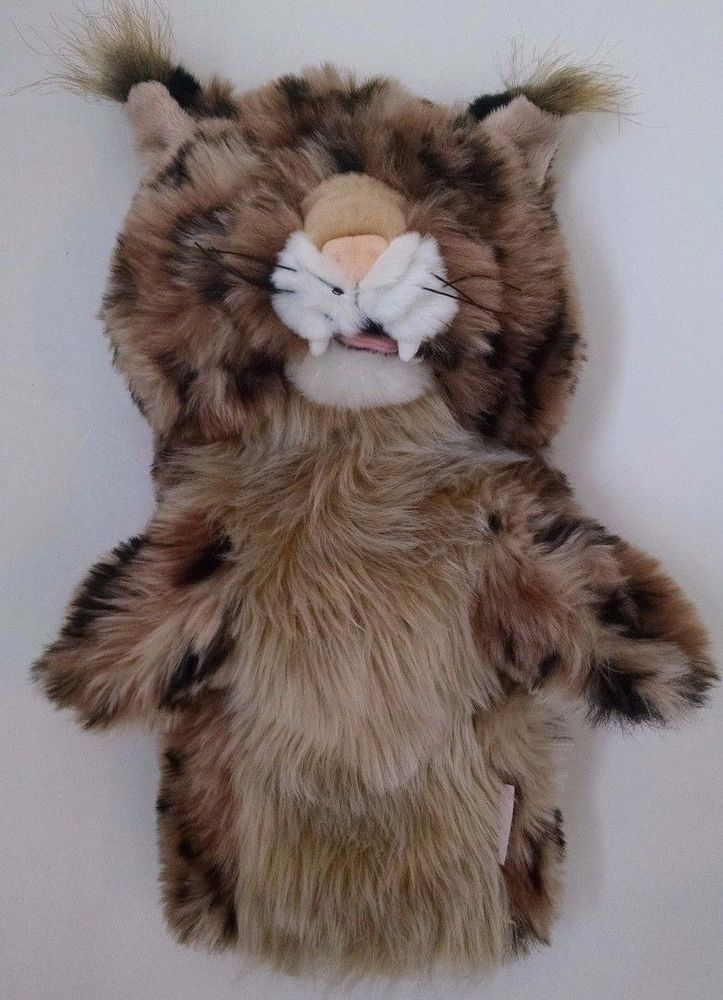 Daphne Golf Headcover Plush Leopard Cheetah Sherpa Lined Stuffed #Daphne