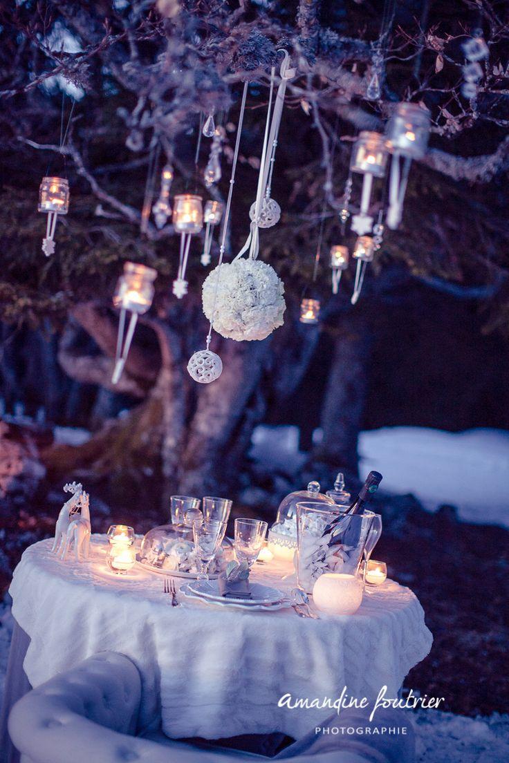 Shooting d'inspirations mariage hivernal