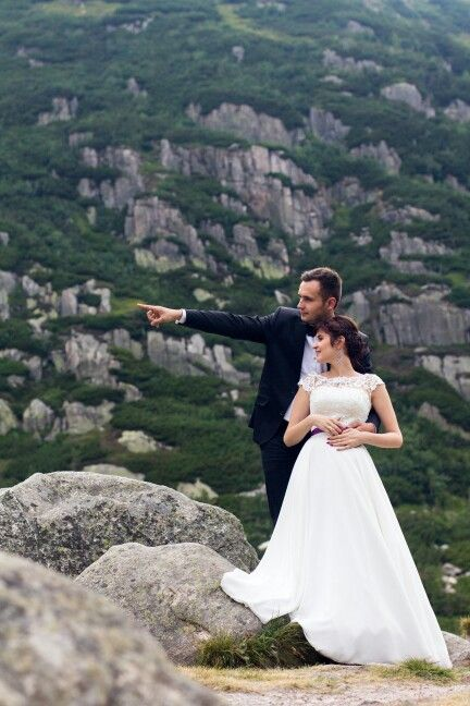 Jagoda & Krzyś plener poślubny  schronisko Samotnia