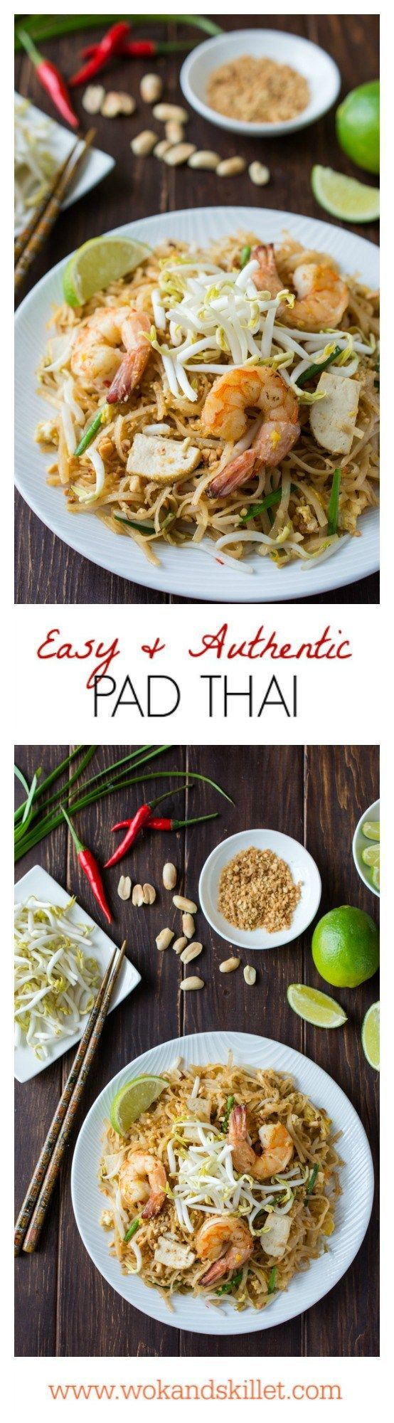 Best 25 stir fry with rice noodles ideas on pinterest stir fry authentic pad thai made easy stir fried rice noodles in a slightly sweet and ethnic recipesasian food forumfinder Gallery