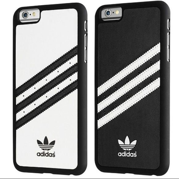 Adidas Case iPhone 6 Plus/6s Plus (PRICE FIRM) Black and White Adidas Accessories Phone Cases