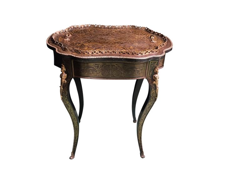 French Napoleon III Large Wood Jardinière – New York