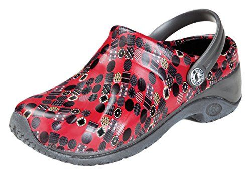 Anywear Unisex Anywear Injected Clog w/Backstrap_Red Rove... #ad