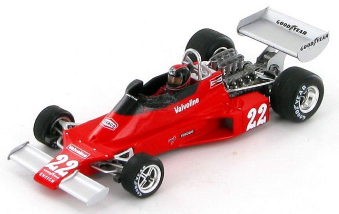 The Ensign Cosworth N176 as driven to 18th place in the 1976 French Grand Prix by Patrick Neve.