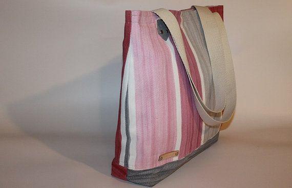 Canvas Diaper bag Tote bag  Market bag Travel bag Easy fixing bag organizer