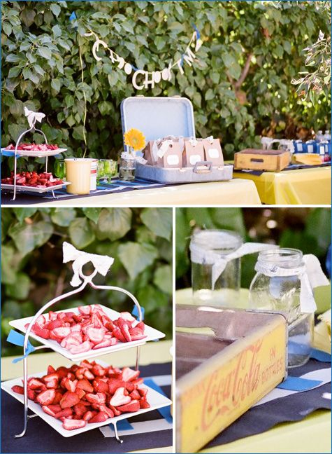 vintage train party.Birthday Parties, Choochootrain Birthdayparty 1, Training Birthday, Birthday Ideas