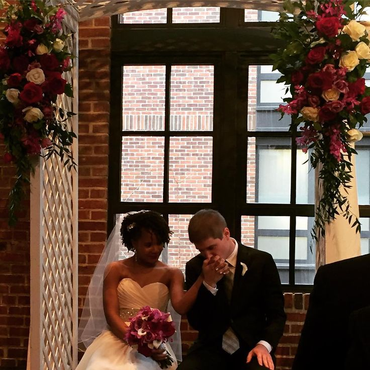 Beautiful interracial couple wedding photography in Washington DC #love #wmbw #bwwm #swirl #wedding