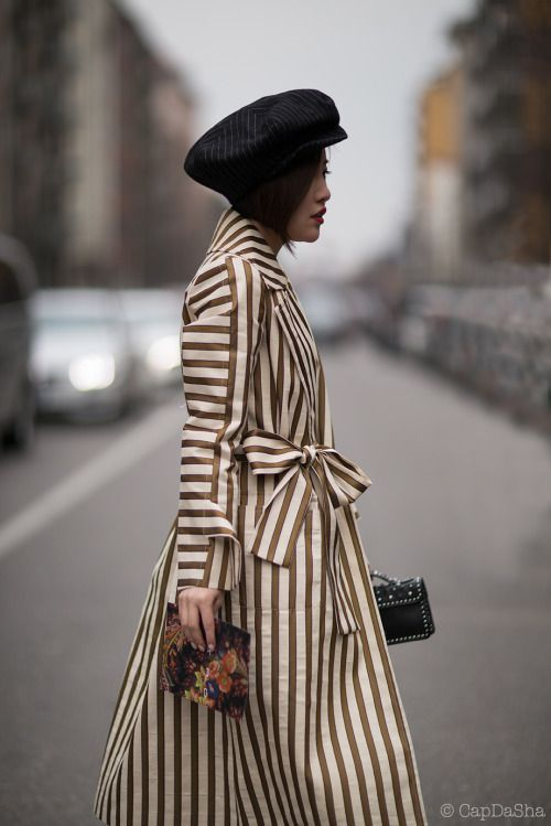 MFW2016 Donna Autunno Inverno 2017 by CapDaSha  The Style Observer http://milanostreetstyle.tumblr.com
