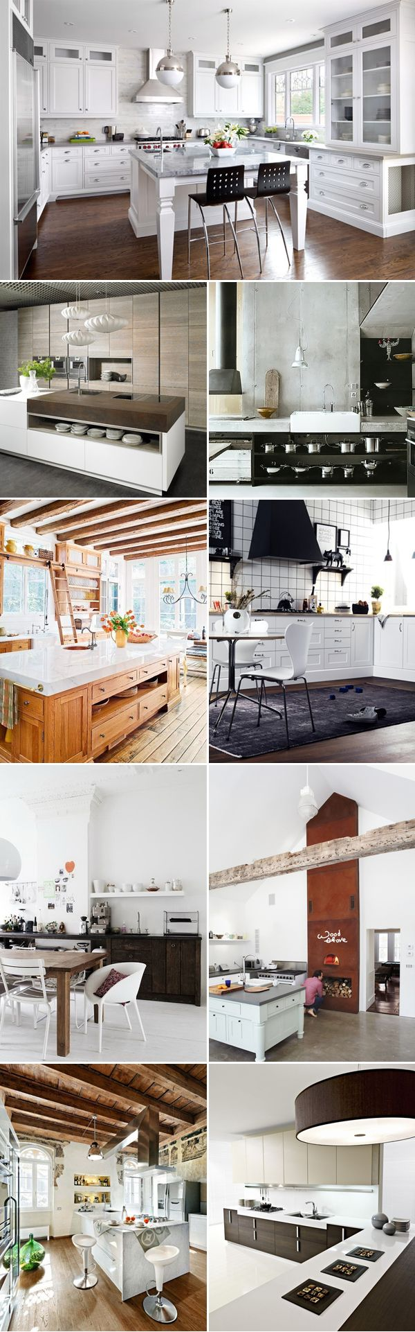 To satisfy your love for #modern #kitchen design. 25 Lovely Kitchen Designs - Modern Kitchens