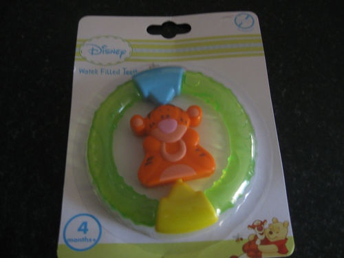 Disney Baby Teething Ring Water Filled Teether Toy Minnie Mickey Mouse Images Frompo