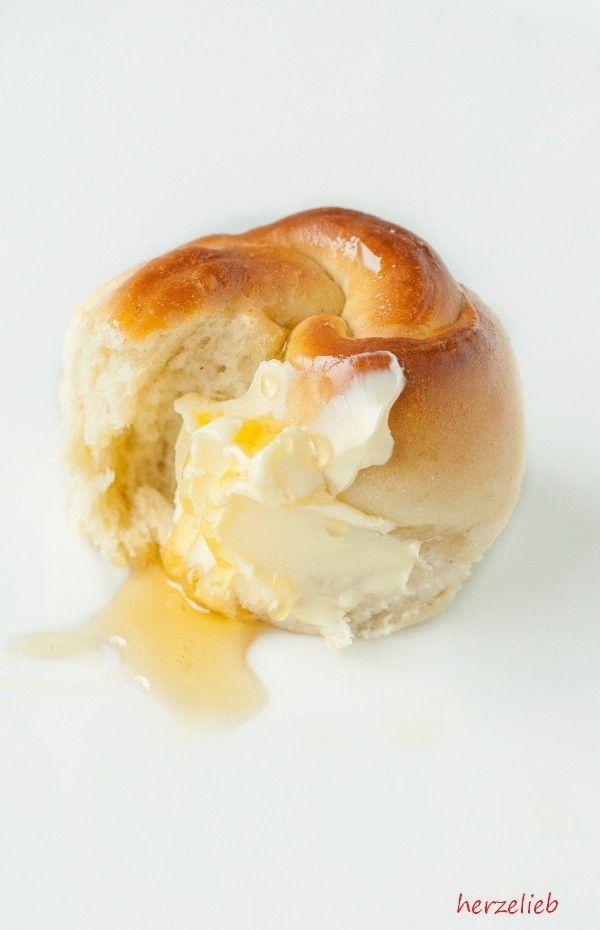 Ein Stück vom Glück. Die Brötchen lassen sich leicht aus dem Brotkranz lösen