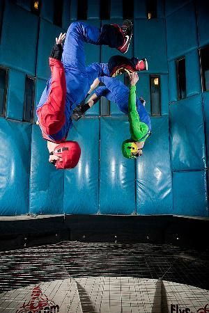 Indoor skydiving, too chicken to actually jump from a plane but would love to know what it feels like to fly!