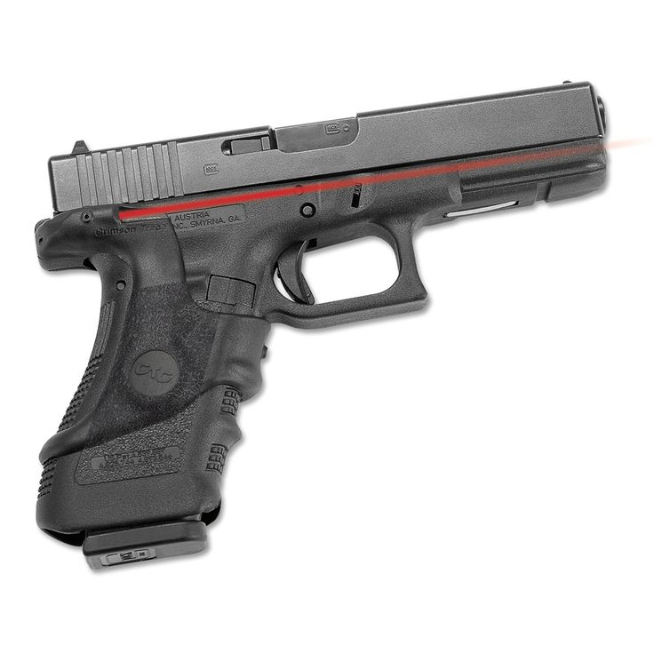 Crimson Trace Glock Polymer Front Activation Overmolded Laser Grip