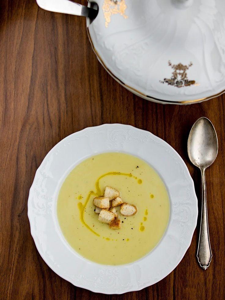 Pradobroty: Krémová pórková polévka