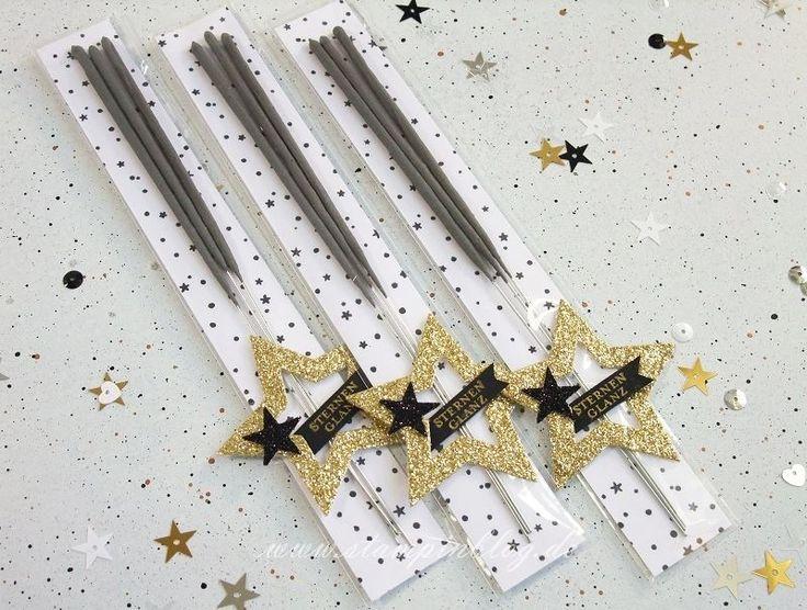 Verpackung-Silvester-Wunderkerzen-Zellophantüte-New-Year-Schwarz-Gold-Stampinblog-Stampin