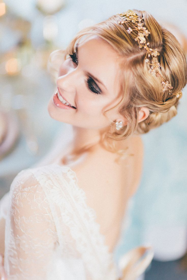 Wedding hair accessories gloucestershire - From A Recent Bridal Shoot Hair Make Up Lipstick And Curls Http