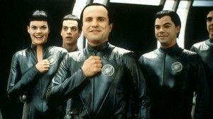 Galaxy Quest - Alan Rickman, Sigourney Weaver, Tony Shalhoub, Sam Rockwell...but Enrico Colantoni as Mathesar was the best