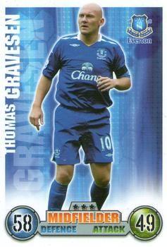 2007-08 Topps Premier League Match Attax #120 Thomas Gravesen Front