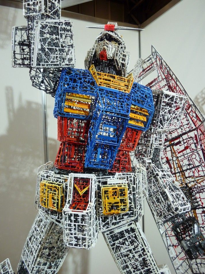 RX-78 made entirely out of sprues #Gundam