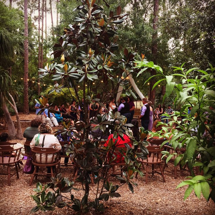 Celtic Circle Ceremony in the garden at Cielo Blu Barn.