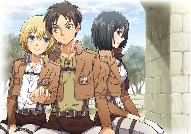 Eren Jaeger, Mikasa Ac...