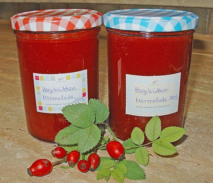 Hagebutten - Marmelade, ein gutes Rezept aus der Kategorie Frühstück. Bewertungen: 3. Durchschnitt: Ø 4,0.