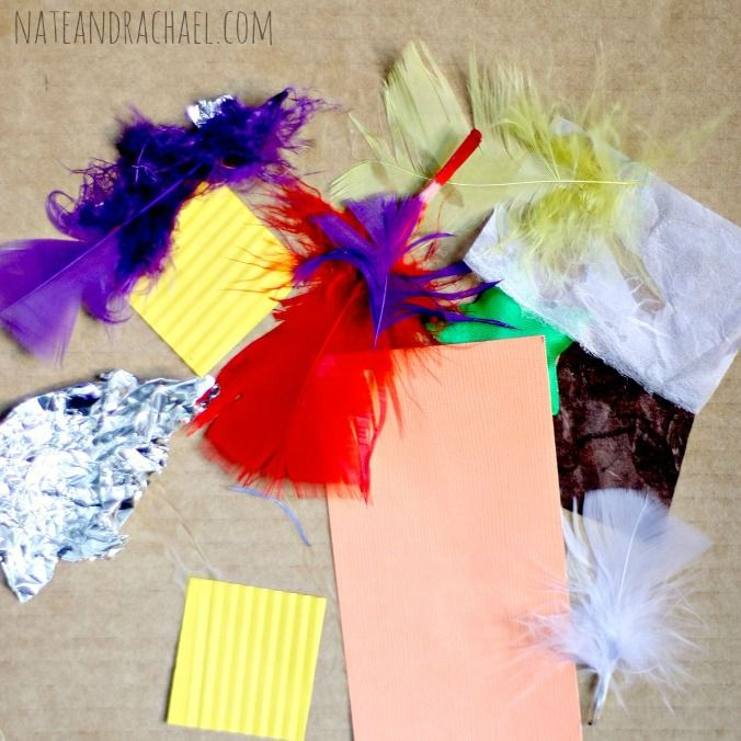 Craft Ideas for Kids--Exploring Texture (Nothing if Not ...