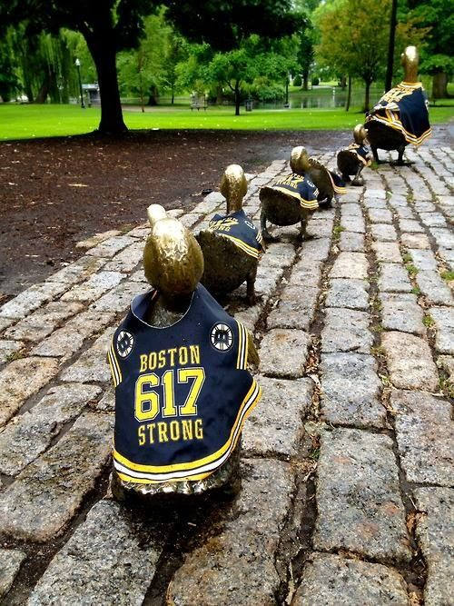 Make Way For Ducklings - Boston Strong