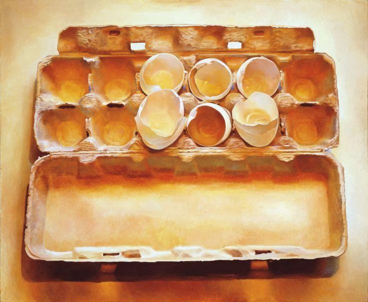 Eggs in an Egg Crate — Mary Pratt