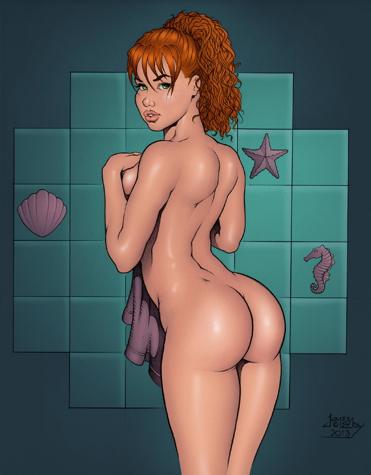 girl porn beautiful drawing