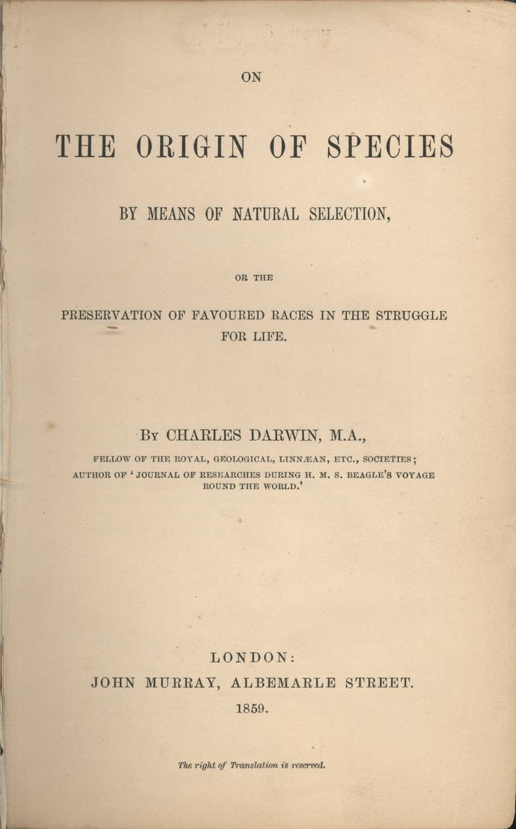 85 best darwin and the origin of species images on pinterest human on origin of species darwin published for the sixth edition in the short title was changed to the origin of species fandeluxe Image collections