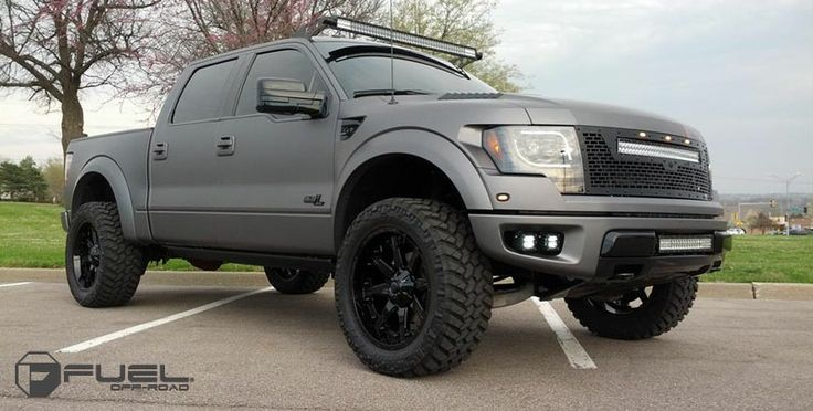 2014 Ford Raptor » BRAND: FUEL TWO PIECE WHEEL: D252 - Nutz TIRE ...