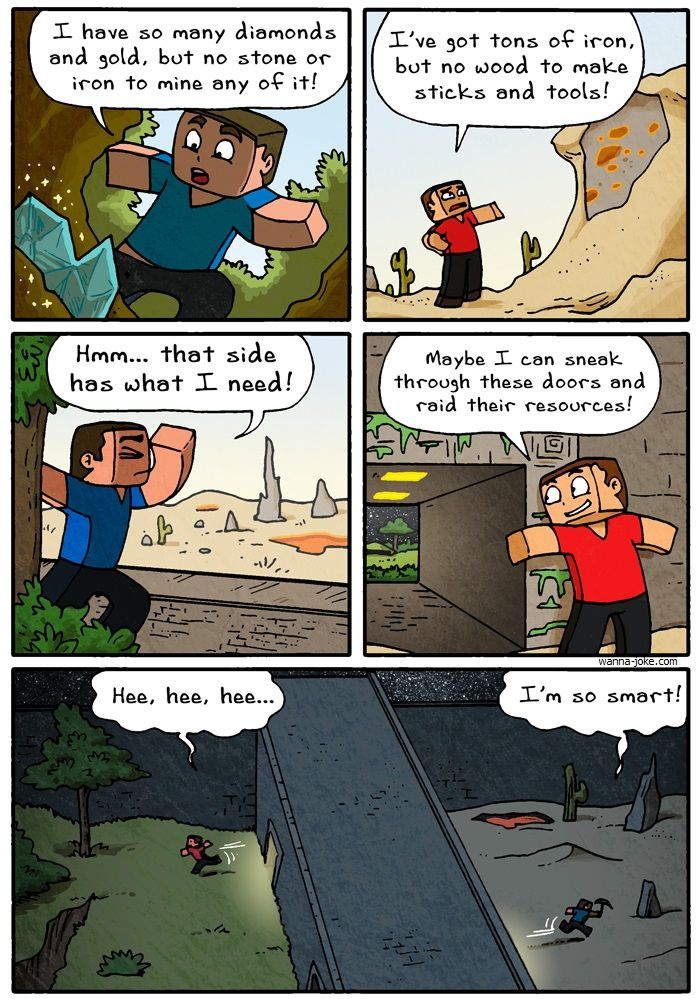 Cool Minecraft comics | Leave a Reply Cancel reply