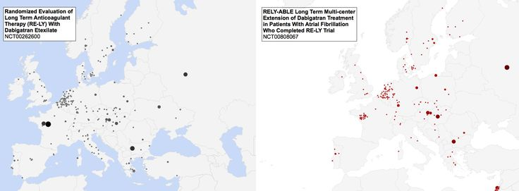 Figure 1 - RE-LY & RELY-ABLE locations