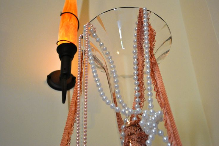 Romantic pink..love pearls details